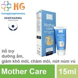 Mother Care Isis pharma - Kem Dưỡng Ẩm Môi, Trị Nứt Núm Vú