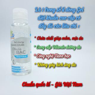 Gel rửa tay khô diệt khuẩn Safelife - Công nghệ Nano bạc - Mềm mịn da tay - G02 thumbnail