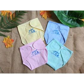 Combo 5 tã vải dán màu Hotga( Quần đóng bỉm cho em bé) - tả vải màu hotga