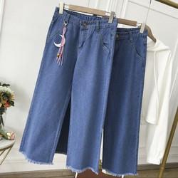Quần jean ống rộng nữ