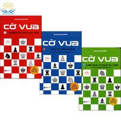 Combo bộ sách Cờ vua Những bài học đầu tiên - Tập 1, Ván cờ hoàn hảo - Tập 2, Chiến thuật: Kỹ thuật tác chiến - tập 3 (kiến thức nhập môn, khai cuộc, cờ tàn, trung cuộc, rèn luyện tư duy trí tuệ thông minh cho trẻ em) - LM123-L1-2020