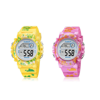 [MIỄN PHÍ GIAO HÀNG] Đồng hồ trẻ em đa chức năng kết hợp hiệu ứng đèn Lex 7 màu chính hãng Coobos - COOBOS 4