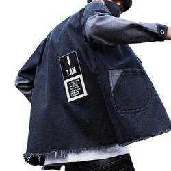 Áo khoác/Áo jacket/Áo nam, chất liệu bò, phong cách Hàn Quốc TA162 HÀNG TOP