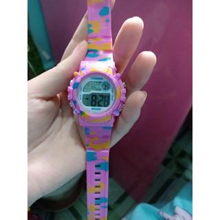 [MIỄN PHÍ GIAO HÀNG] Đồng hồ trẻ em đa chức năng kết hợp hiệu ứng đèn Lex 7 màu chính hãng Coobos - COOBOS 6