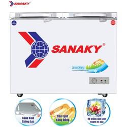 Tủ đông kính cường lực Sanaky 240 lít VH-2899A2K
