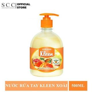 Sữa Rửa Tay Kleen Hương Xoài 500 ml - Kleen Hương Xoài 500ml thumbnail