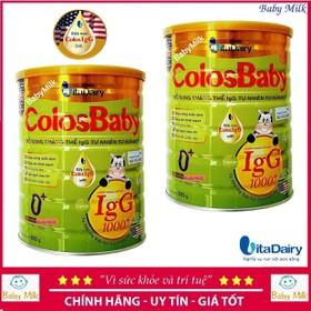 Combo 2 lon Sữa ColosBaby Gold 0+ 1000igG 800g - Combo 2 lon Sữa ColosBaby Gold 0+