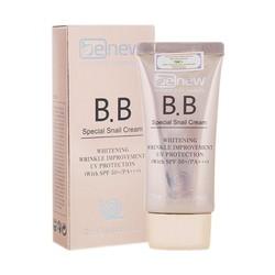 Kem nền trang điểm trắng sáng da BB Benew Special Snail Cream Hàn Quốc