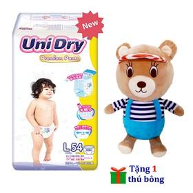 [Tặng 1 gấu bông mặc áo] Tã quần Unidry Premium size M60 - size L54 - size XL48 - PR-9