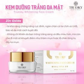 Kem dưỡng trắng da mặt Truesky giúp da căng mịn, giảm thâm nám tàn nhang 15g - Whitening Face Cream - TRUESKY_FACE15G-2