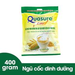 Bột ngũ cốc dành cho người ăn kiêng, tiểu đường Quasure light túi 400g