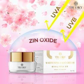 Kem dưỡng trắng da mặt Truesky giúp da căng mịn, giảm thâm nám tàn nhang 15g - Whitening Face Cream - TRUESKY_FACE15G-1