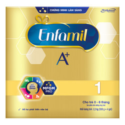 Sữa Bột Enfamil A+ 1 (2,2kg)