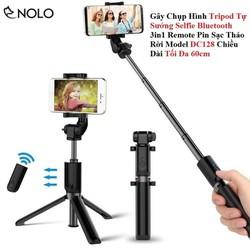 Gây Chụp Hình Tripod Tự Sướng Selfie Bluetooth 3in1 Remote Tháo Rời Model K07 Chiều Dài Tối Đa 60cm