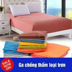 Ga trải giường chống thấm loại trơn