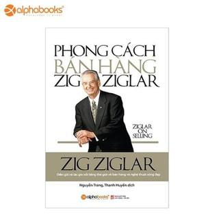 Sách Alphabooks - Phong cách bán hàng Zig Ziglar - 8935251402155 thumbnail