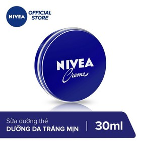 Combo Kem dưỡng ẩm da Nivea Creame 30ml x 2 - TUNI0165CB-1