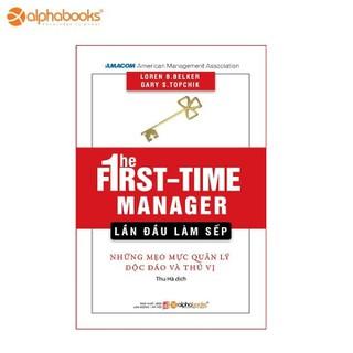 Sách Alphabooks - Lần đầu làm sếp - 8935251409796 thumbnail