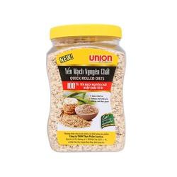 Yến mạch nguyên chất cán dẹt Union hộp 450g