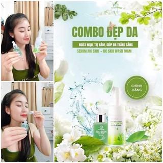 Combo Ric Skin serum HA+ Sữa rửa mặt Ric Skin - SR02 2