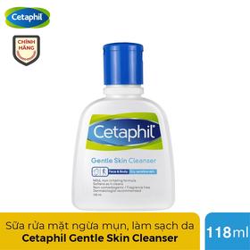 Sữa rửa mặt Cetaphil Canada ngăn ngừa mụn cho mọi loại da 118ml - CETAPHIL 118ml