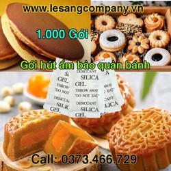 Gói Hút Ẩm Làm Bánh Bảo Quản Bánh (1000 Gói Silica Gel) Bảo Quản Thực Phẩm
