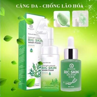 Combo Ric Skin serum HA+ Sữa rửa mặt Ric Skin - SR02 1