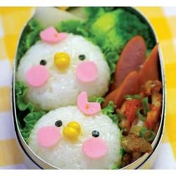 Bộ 6 Khuôn làm bánh trung thu 50gr hoạt hình dễ thương từ Hàn Quốc - BK6H002