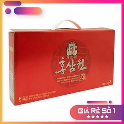 Nước Uống Tăng Lực Hồng Sâm Kgc Cheong Kwan Jang Korea Red Ginseng Drink Hongsamwon Hộp 15 Gói X 70Ml