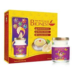 Yến sào Bionest Mum cao cấp 18% 6 lọ dành cho mẹ bầu