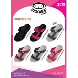 Dép Thái Lan Quai Ngang Moniga Nữ Chữ H. Thailand women's sandals.