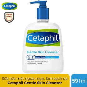 Sữa rửa mặt Cetaphil Canada ngăn ngừa mụn cho mọi loại da 591ml - CETAPHIL 591ml