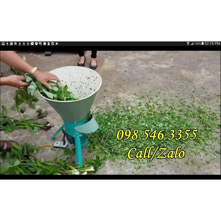 Hình ảnh Giảm giá Máy thái rau, bèo, chuối, cỏ voi đa năng tại Sơn La