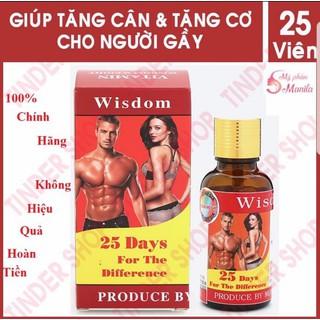 TĂNG CÂN WISDOM - TĂNG CÂN WISDOM WEGHT ( Hàng Xịn ) - HÀNG SĨ CÓ KÈM HÌNH THẬT - INDONESIA thumbnail