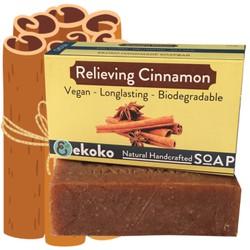 Xà Phòng Handmade Hương Quế Relieving Cinnamon, Xà Bông Handmade, Nguyên Liệu Tự Nhiên, Bảo Vệ Và Giúp Da Sáng Khỏe