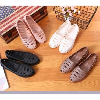 Giày Lười Nữ Đi Mưa - Giày Nữ Đi Biển - GN11 - Được Ktra Hàng Trước Khi Nhận thumbnail