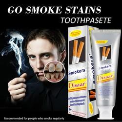 Kem đánh răng làm trắng răng Smokers Disaar dành cho người hút thuốc