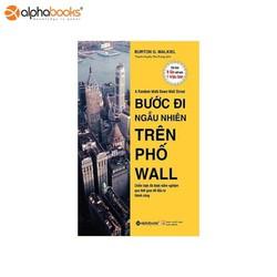 Sách Alphabooks - Bước đi ngẫu nhiên trên phố Wall