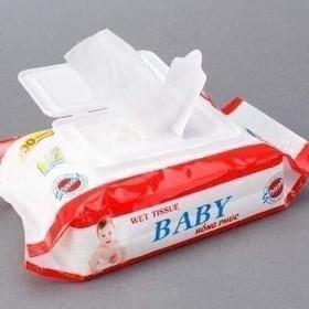 20 gói Khăn ướt Baby wiper 80gam - Tặng 1 gói - khăn ướt