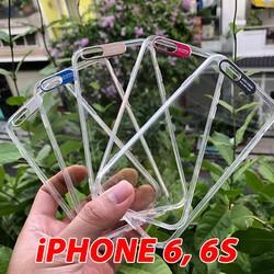 Ốp Lưng iPhone 6 - 6S Viền Nhôm Bảo Vệ Camera Siêu Đẹp
