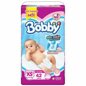 Tả dán Bobby XS 42 miếng - Bobby