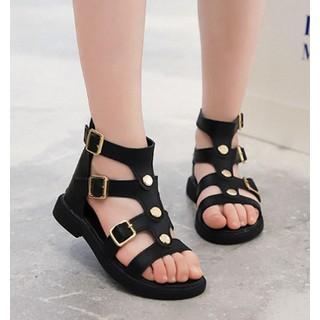 Dép sandal chiến binh bé gái 3 - 13 tuổi quai điệu đà, xinh xắn - SD52DE
