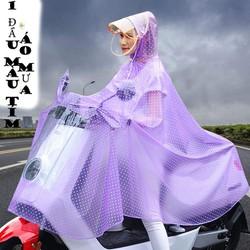 ÁO MƯA XỊN, áo mưa siêu dai, áo mưa bền đẹp, 2 màu