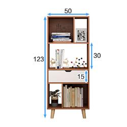 Kệ sách kệ trang trí nội thất kệ phòng khách giá sách gỗ kệ sách gỗ