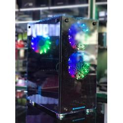 TRỌN BỘ MÁY CHIẾN GAME PUBG ĐỜI MỚI MÀN HÌNH 24IN CONG - CPU I3 9100F - VGA RX570 4GB - RAM 8GB - MAIN H310 - SSD 120GB