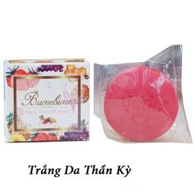 Xà Phòng Tắm Trắng Da Thần Kỳ Bumebime Mask Natural Soap - Chuẩn Thái Lan - XPBMNS1