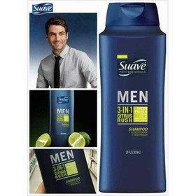 Dầu Gội Suave Men 3 In 1 828ml CITRUS nhập Mỹ - Suave Men 3 In 1 828ml