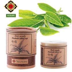Xà phòng handmade ECOLIFE trị nhờn tinh chất trà xanh