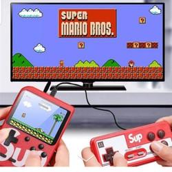 Máy Chơi Game Điện Tử 4 Nút Cầm Tay G1 New 400 Trò Sup Plus Mario Nấm  Contra  Tank V V  2 Người Chơi [ĐƯỢC KIỂM HÀNG]