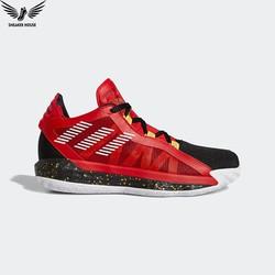 Giày bóng rổ Giày bóng rổ chính hãng Adidas Dame 6 scarlet  gold metallic EH1994